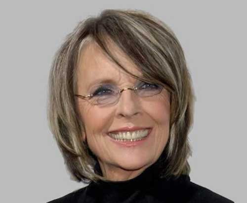 Nice Bob Hairstyles for Women Over 60