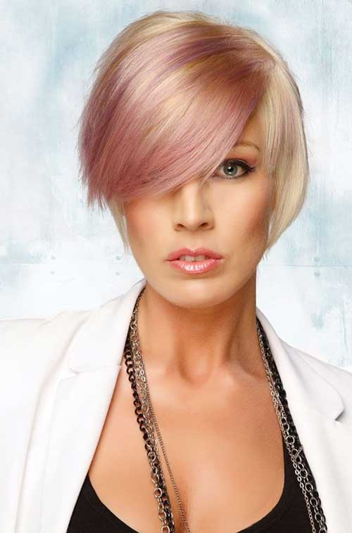 Best Nice Bob with Blonde and Pink Hairstyles