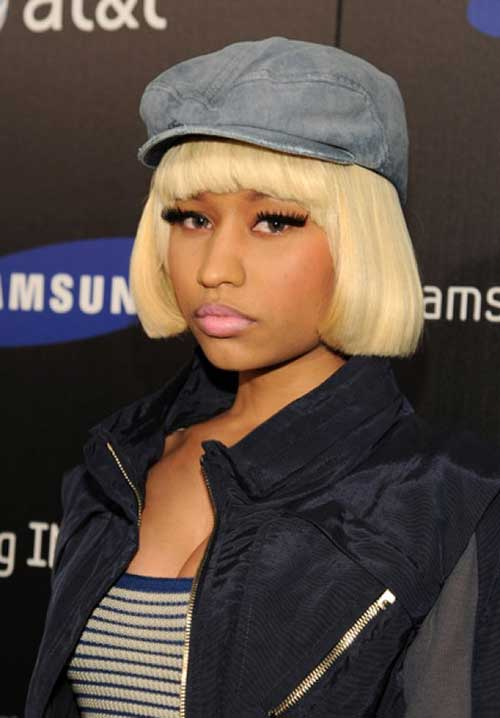 Nicki Minaj Blonde Bobs Hairstyles