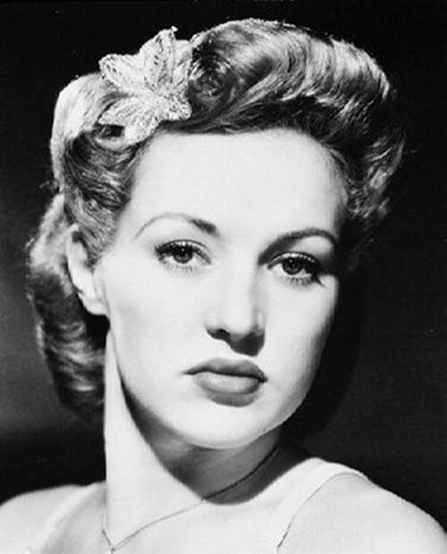 Nice Old 50s Hairstyles for Short Hair