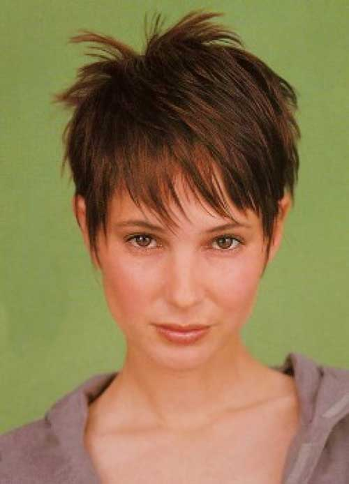 Pictures of Cute Pixie Short Haircuts for Thin Fine Hair