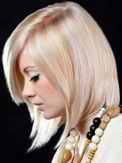 Pink And Blonde Straight Bob Hair