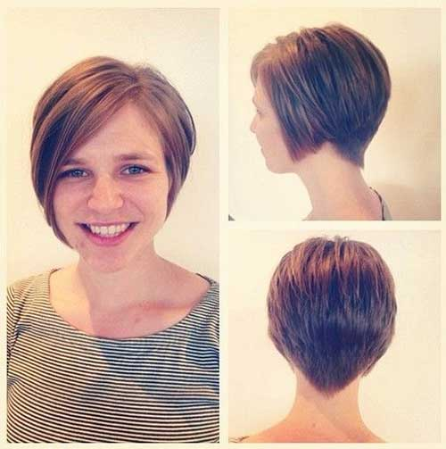 Pixie Bob Pretty Short Brown Haircuts