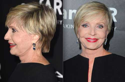 Pixie Hair Cut for Women Over 60