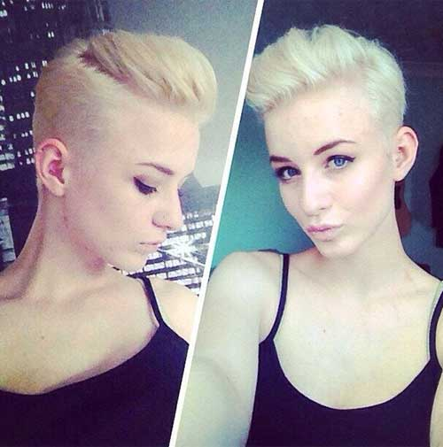 Pixie Trendy Undercut Hairstyles