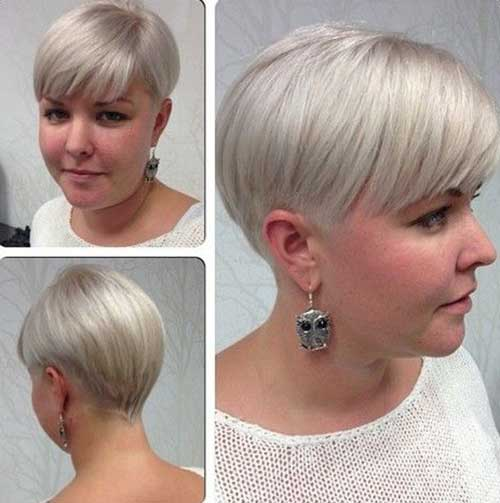 Platinum Blonde Haircut Ideas for Women