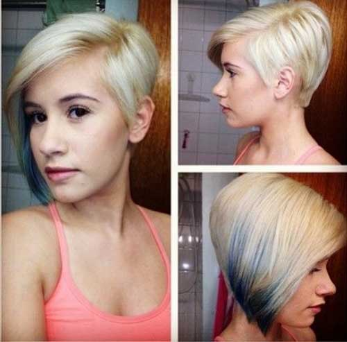 Nice Pretty Blonde Short Haircuts
