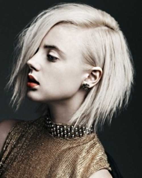 Razor Cut Hairstyles for Short Bob Hair
