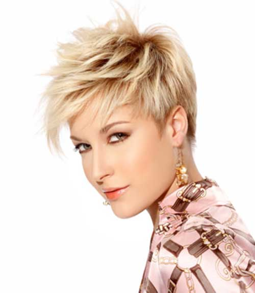 Razor Cut Hairstyles for Short Pixie Haircuts