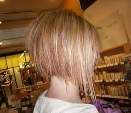 Best Razored Bob Haircuts Back View