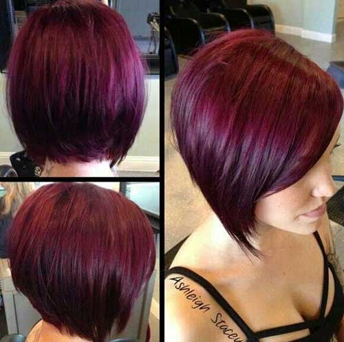 15 Red Bob Haircuts