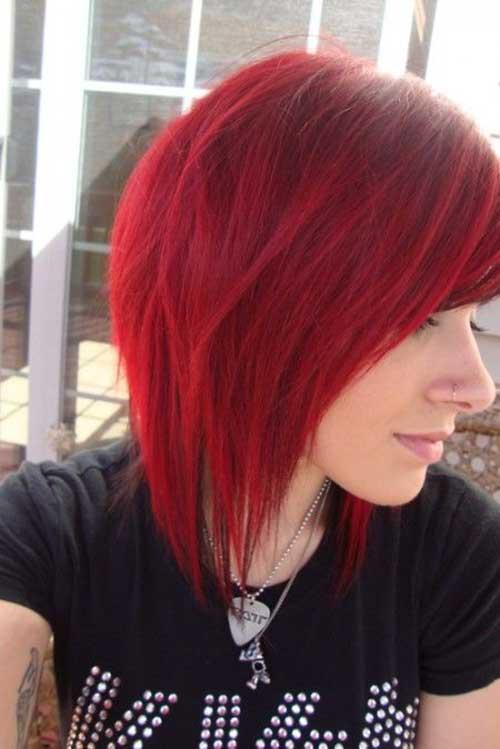 Cool Red Hair Bob
