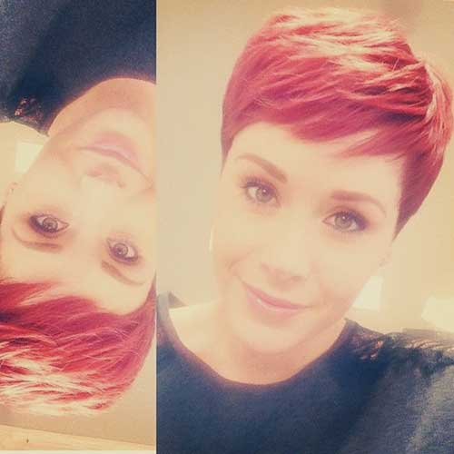 Red Pixie Cut Ideas for Women