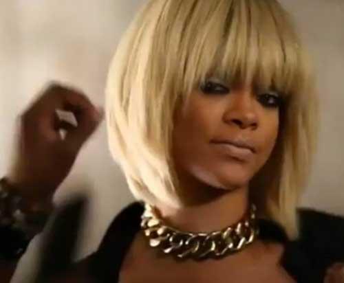Incredible New Rihanna Blonde Short Hair Short Hairstyles 2016 2017 Short Hairstyles For Black Women Fulllsitofus