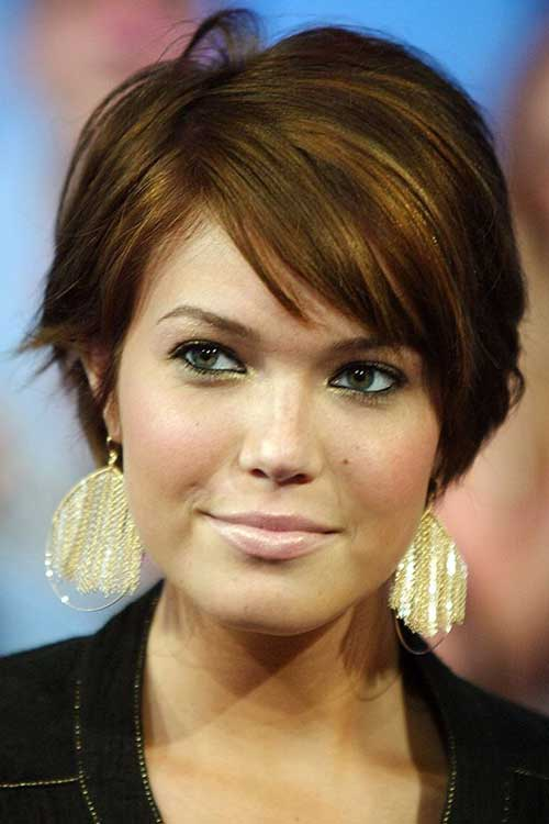Round Face Short Haircut Ideas