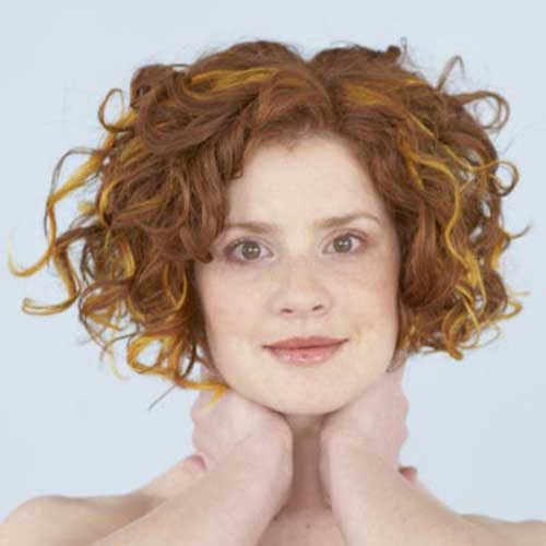 Astonishing Best Curly Short Hairstyles For Round Faces Short Hairstyles Hairstyles For Women Draintrainus