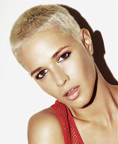 Shaved Images of Short Hair Cuts