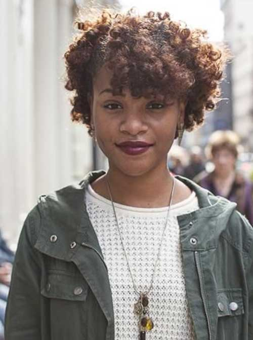 Cute Short Afro Hairstyles For Black Women