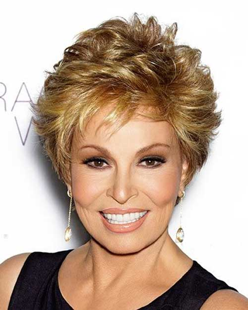 Short Blonde Spiky Hair Cuts for Over 50