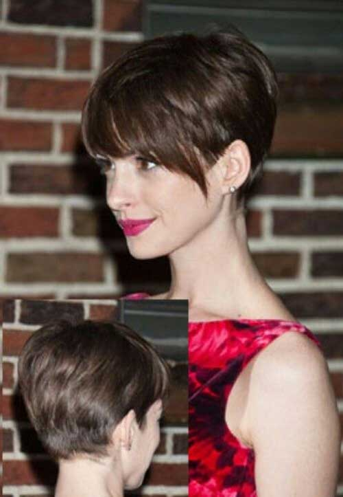 Nice Short Brown Haircuts