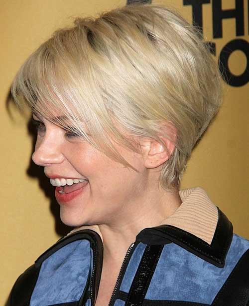 Short Cropped Straight Fine Hairstyles