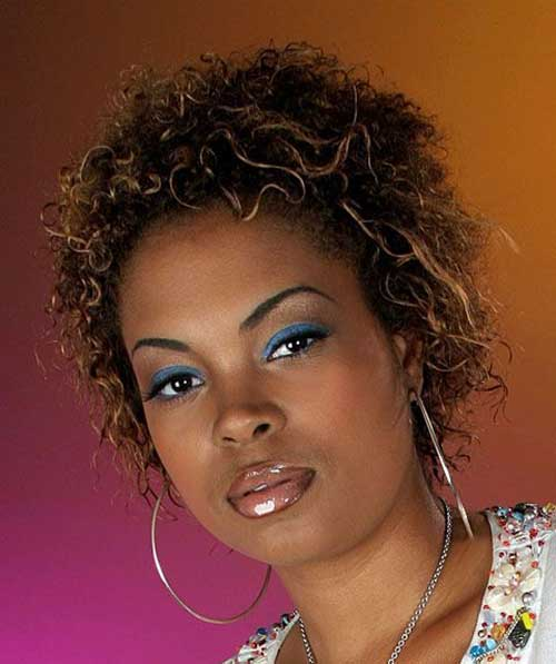 Best Short Curly Hairstyles for Round Faces Black Women