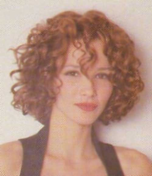 Short Curly Natural Ginger Hairstyles