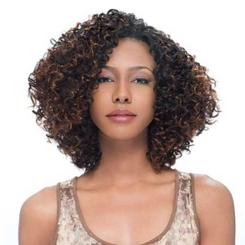 Super 15 Beautiful Short Curly Weave Hairstyles 2014 Short Hairstyles Hairstyle Inspiration Daily Dogsangcom