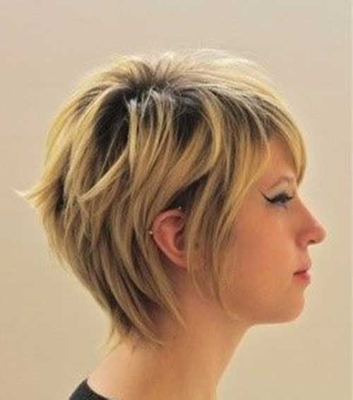 Short Cute Hairstyles with Layers