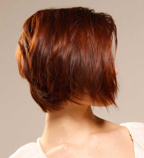 Short Cute Hairstyles for Thick Hair Ideas Side View