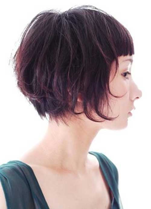 Short Cute Bob Hairstyles for Thick Hair