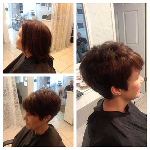 Short Cute Hairstyles for Thick Pixie Hair