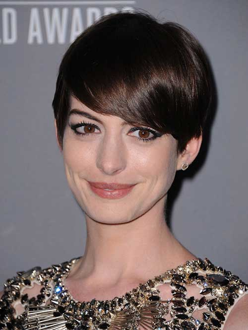 Short Cute Hairstyles for Thick Straight Pixie Hair