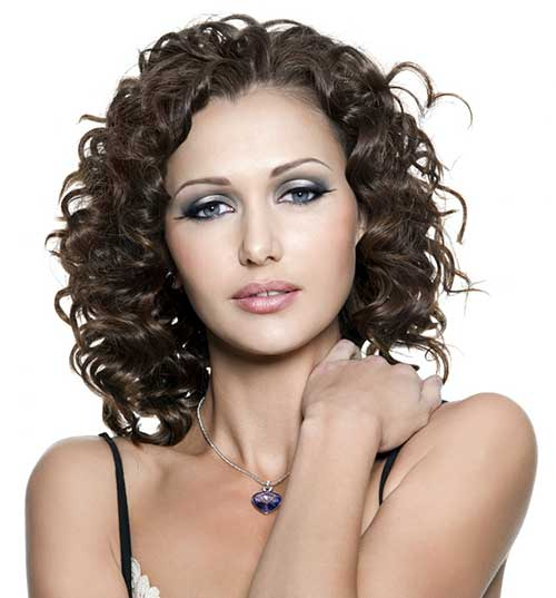 Short Dark Curly Hair Perms Ideas