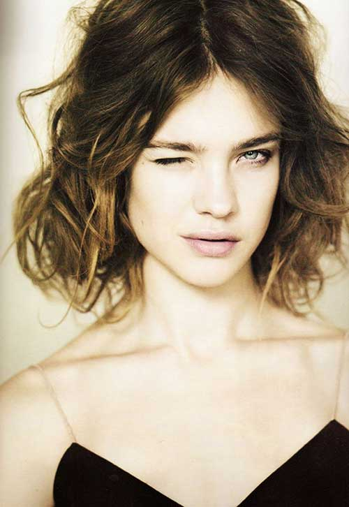 Short Easy Curly Bob Hairstyles