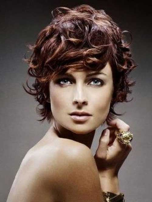 Peachy 15 Easy Hairstyles For Short Curly Hair Short Hairstyles 2016 Hairstyles For Women Draintrainus