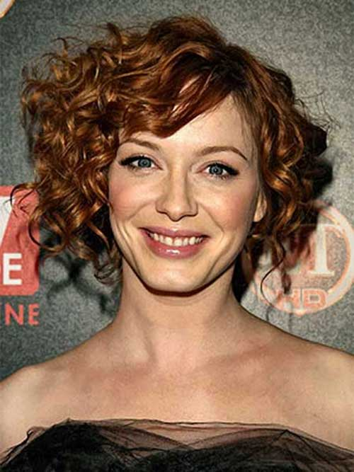 Short Easy Cute Curly Hairstyles