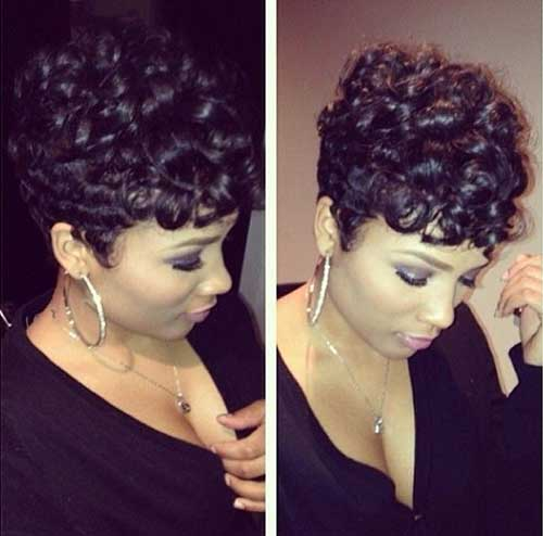 Awe Inspiring How To Pin Curl Short Curly Hair Best Image Hair 2017 Hairstyle Inspiration Daily Dogsangcom