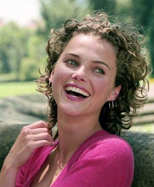 Short Frizzy Curly Nice Hairstyles