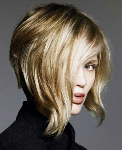 Short Funky Bob Haircuts