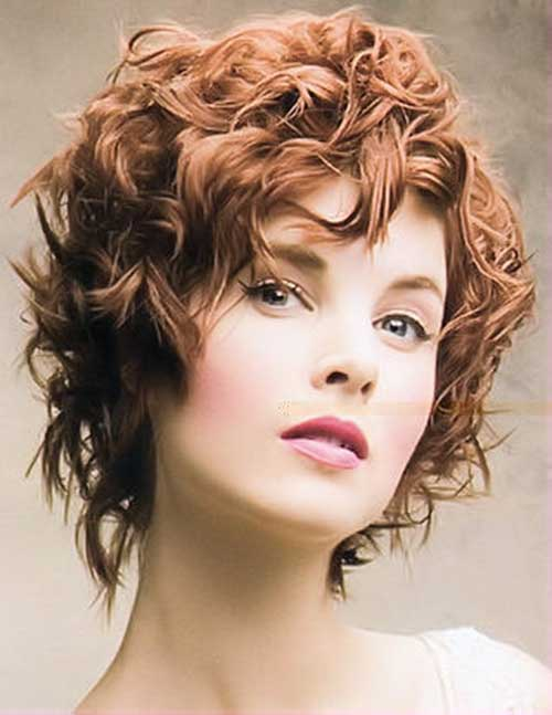 Short Ginger Curly Hair Perms Ideas