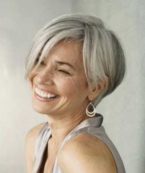 Best Short Grey Hair