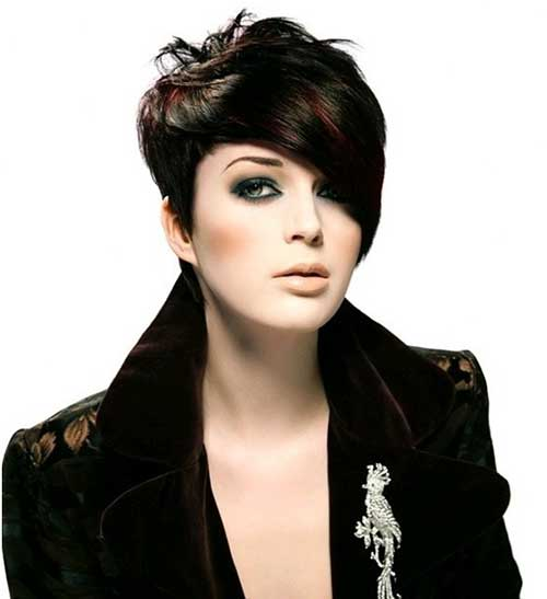 Short Hair Cut Ideas Ladies