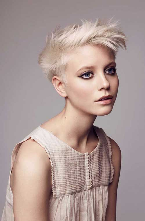 Cute Short Hair Round Face