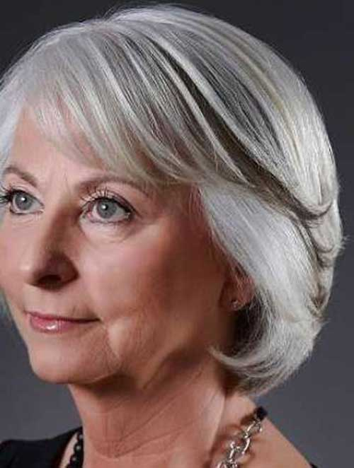 Short Bob Hair for Women Over 60