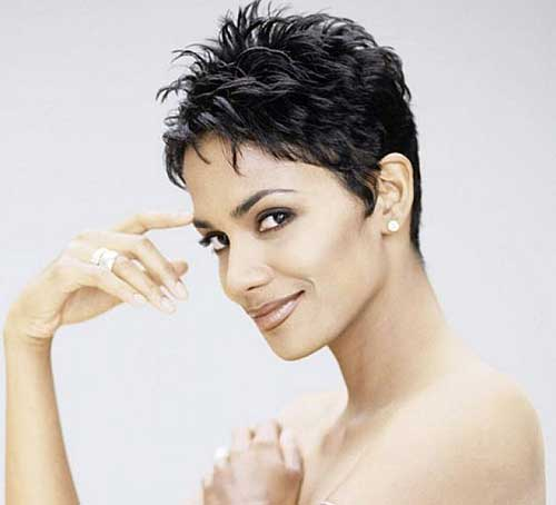Short Pixie Haircuts For Black Women Over 40