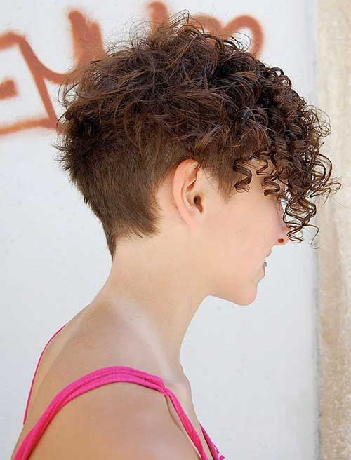 Short Under Haircuts For Curly Frizzy Hair