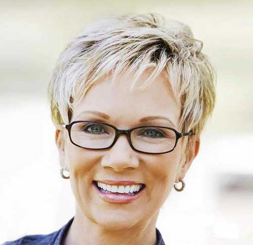 Short Pixie Haircuts For Mature Women