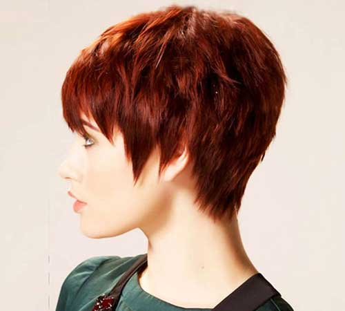 Short Haircuts Thick Straight Pixie Hair
