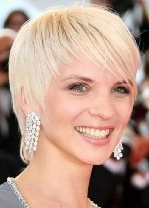 Short Haircuts for Fine Straight Hairstyles